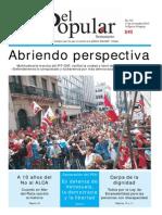 El Popular 332 Órgano de Prensa Oficial del Partido Comunista de Uruguay