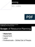Project - Resource Planning