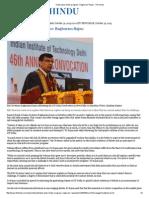 Hasty Bans Hinder Progress_ Raghuram Rajan - The Hindu