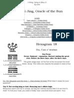Hexagram 18 Yijing