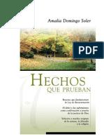 Hechos Que Prueban. Amalia Domingo Soler