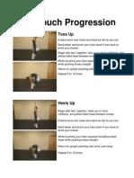 Toe Touch Progression