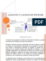 Garantía y Calidad de Software