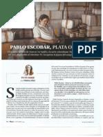 Pablo Escobar. Septiembre 2015. Revista Plaza