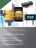 INSTRUMENTASI OCEANOGRAFI KELAUTAN