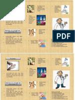 Leaflet Jamur
