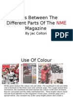 Links Between the Different Parts of the NME