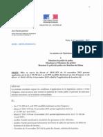 Circulaire Bernard Cazeneuve État Urgence