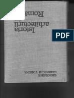 curinschi. ionescu. istoria arhigtecturii in romania