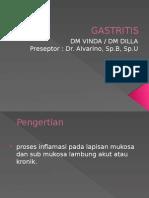 Presentasi Gastritis Case Rotasi 2