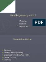 Visual Programming – Unit I