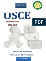 Pediatrics OSCE