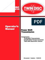 61908 Manual transmision Twin Disc