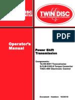 61908 Manual transmision Twin Disc