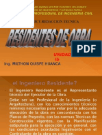 Residentes de Obra- Ic