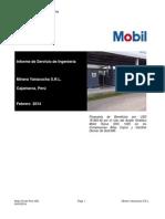 Propuesta de Beneficios Por El Uso Del Mobil Rarus SHC 1025 en Los Compresores de Gold Mill- MYSRL Febrero 2014