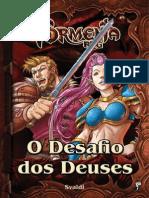 Tormenta RPG - O Desafio Dos Deuses - Taverna Do Elfo e Do Arcanios
