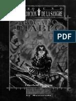 Mundo de Tinieblas - Vampiro - Maldicion - Fleming_ Gherbod
