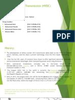 High Voltage Dc Transmission (HVDC)