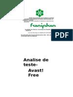 Analise de Teste