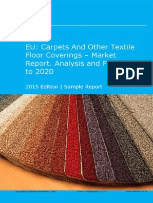 EU: Carpets And Other Textile Floor Coverings - Market