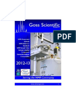 Catalogue Goss Scientific Instrument