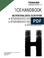 Toshiba Es4520c Service hand book
