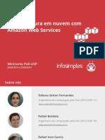 Infraestrutura Nuvem Aws Amazon Web Services