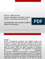 Rtf Imp a La Renta Edwin Arroyo Rosales