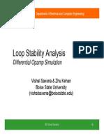Loop Stability Analysis