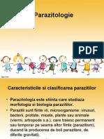 Parazitologie - Curs Dr. Jitaru