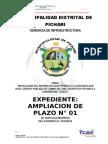 SAP SAL Tambo Del Ene_Ampliacion de Plazo Nº 01