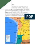 Guerra do Pacífico (mapas e dados)