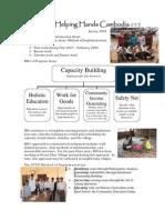 Helping Hands Cambodia - project descriptions