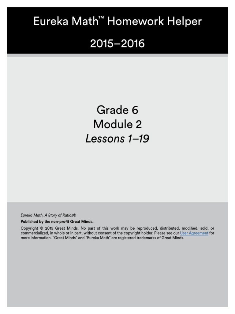 homework helper-grade 6 module 2 | Division (Mathematics