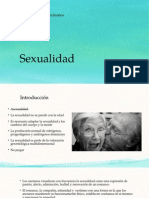 Sexualidad en el adulto mayor