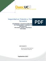 Trabajo Seg. y Salud Ocup.transp