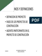 Ua2_desarrollo de Proyectos y de Obras de Construcción II