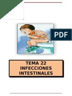 Tema 22. Enfermedades Infecciosas Del Tracto Didestivo