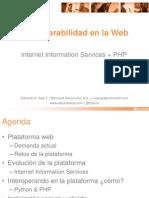 Interoperabilidad en la Web