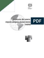 Globalización-libre Comercio-Integración y RR Laborales (Ensayos)