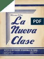 La Nueva Clasen - Milovan Djilas.pdf