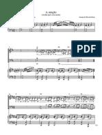 A Oração - Piano e Coro