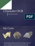 Character Design OGR 16/11/2015