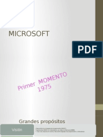 Primer Momento de Microsoft