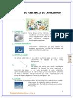 Usos de Materiales de Laboratorio de Quimica