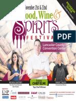 Food, Wine & Spirits Festival 2015