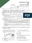 evaluación sistema nervioso humano