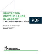 Protected Bike Lanes in Albany report