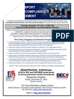 Salt Lake City-December 10-Evolving Export Controls...